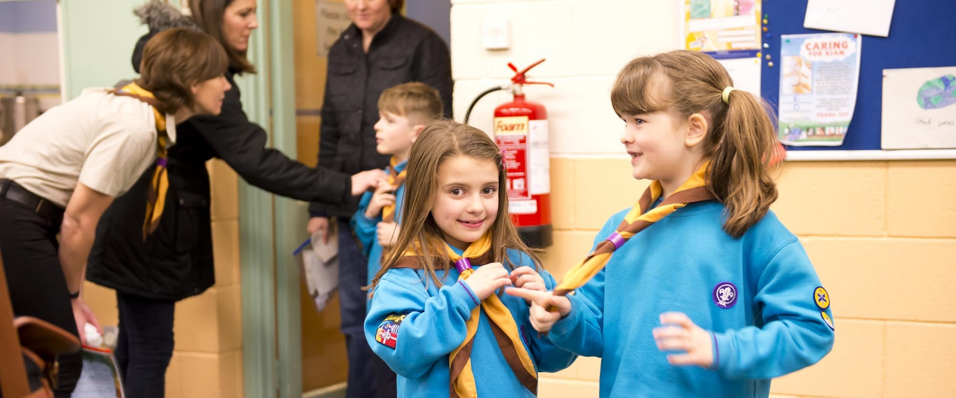 Join Beaver Scouts (6-8 years old)